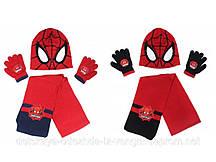 780525, Avengers , Шапка+шарф+перчатки для мальчиков