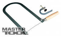 MasterTool  Лобзик ручной с набором (лобзик, струбцина), Арт.: 14-2204