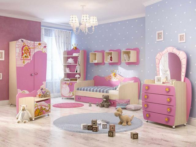 Детская комната Синдерелла (розовая)