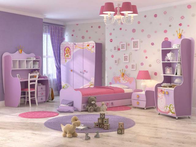 Детская комната Синдерелла (лиловая)