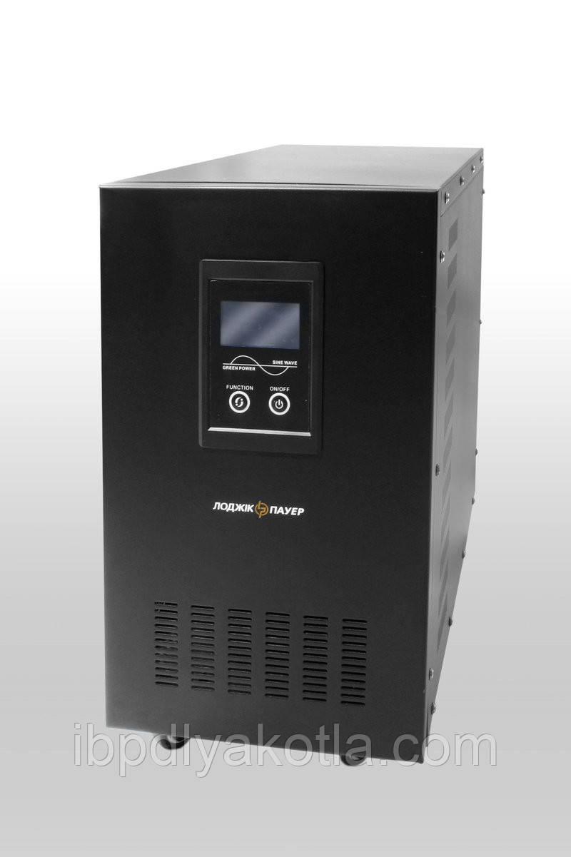 ИБП Logicpower LPM-PSW-8000 (4800Вт), для котла, чистая синусоида, внешняя АКБ