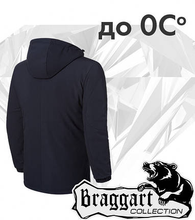 Braggart 'Black Diamond'. Куртка демисезонная 4752 черная, фото 2