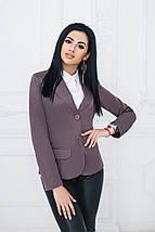 """Удлинённый женский пиджак """"Elaine"""" с длинным рукавом (10 цветов), фото 3"""