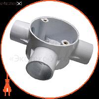 Enext Коробка e.pipe.3.db.stand.25 з'єднувальна трубна, 3 вводи, d25мм