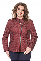 Весенняя женская куртка - батал