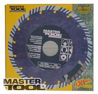"MasterTool  Диск алмазный "" segmented turbo "", Арт.: 19-1115"