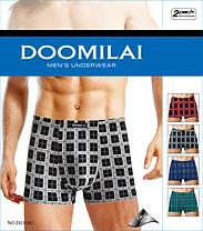 Мужские стрейчевые боксеры из бамбука «DOOMILAI» Арт.D-01083, фото 3
