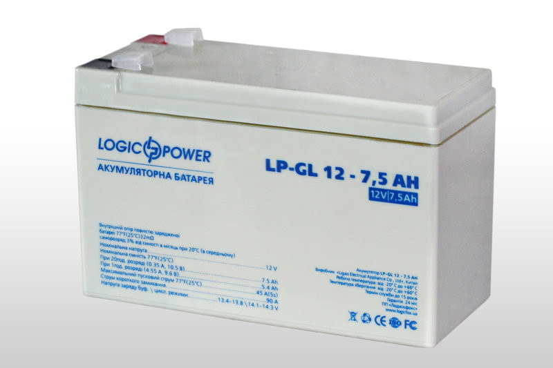 Logicpower LP-GL 12V 7.5AH