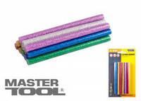 MasterTool  Стержни клеевые 7,2*100 мм, 12 шт, цветные перламутровые, Арт.: 42-0160