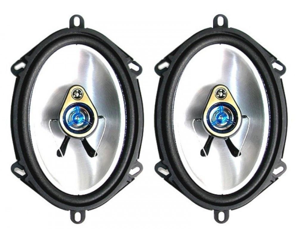 """Автомобильная акустика 5""""х 7"""" (13 х 18см) 3-х полосная коаксиальная BM Boschmann PR-5700V 180W"""