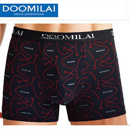 Чоловічі стрейчеві боксери з бамбука «DOOMILAI» Арт.D-01092, фото 2