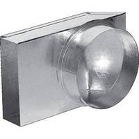 Переходник-труба Kratki 90° ф150