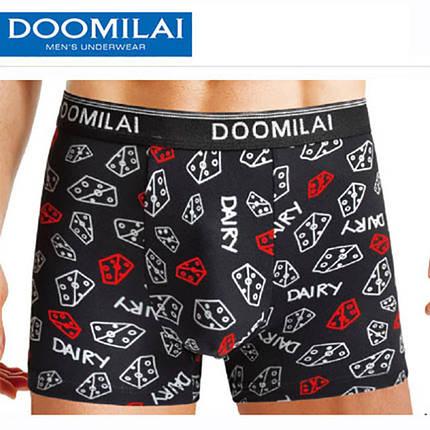 Мужские стрейчевые боксеры из бамбука марка «DOOMILAI» Арт.D-01097, фото 2