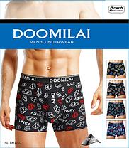 Мужские стрейчевые боксеры из бамбука марка «DOOMILAI» Арт.D-01097, фото 3