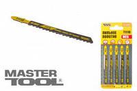 Пильное полотно для лобзика по дереву 5 шт, быстрый прямой рез, 6TPI, L 100 мм T111D, Арт.: 14-2817