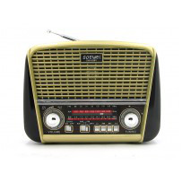 Радиоприемник SW-008U(USB.TF.SD,фонарик)
