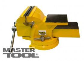 Купить Тиски слесарные поворотные, ширина захвата 125 мм, Арт.: 07-0212, Mastertool
