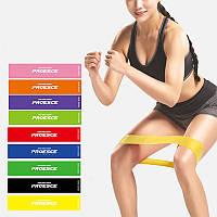 Спортивная лента для занятий спортом фиолетовая