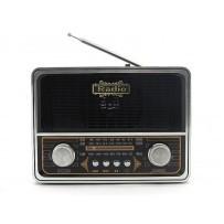 Радиоприемник VX-332 (USB.TF.SD.,фонарик)