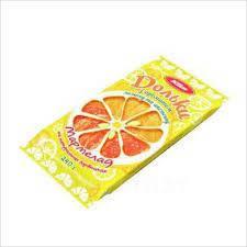 """Мармелад """"Дольки"""" с ароматом лимона и апельсина 240 гр"""