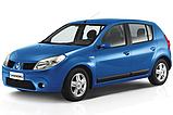 Авточехлы Renault Sandero 2007-2012 (цельная) Nika, фото 10
