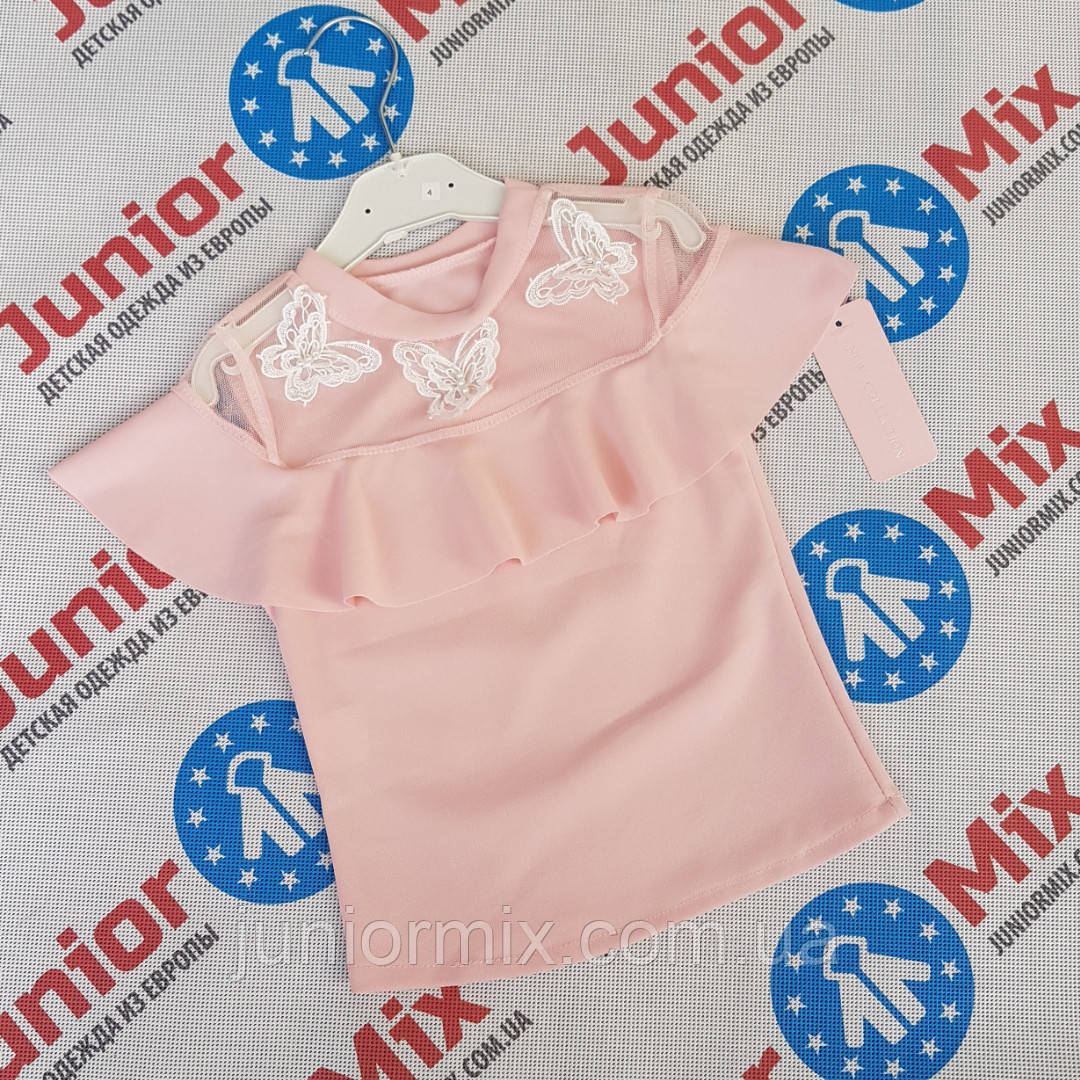 7e9391ccba6 Детские нарядные блузки для девочек оптом - Оптовый интернет магазин  JuniorMix в Хмельницком