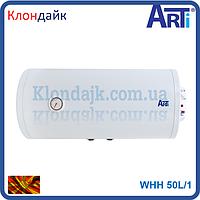 Бойлер с мокрым тенам Arti 50 литров горизонтальный монтаж (Македония) WHH 50L/1