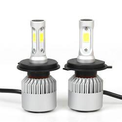 Практичный комплект светодиодных ламп для автомобиля с цоколем НВ4 (9006). Серия G 5