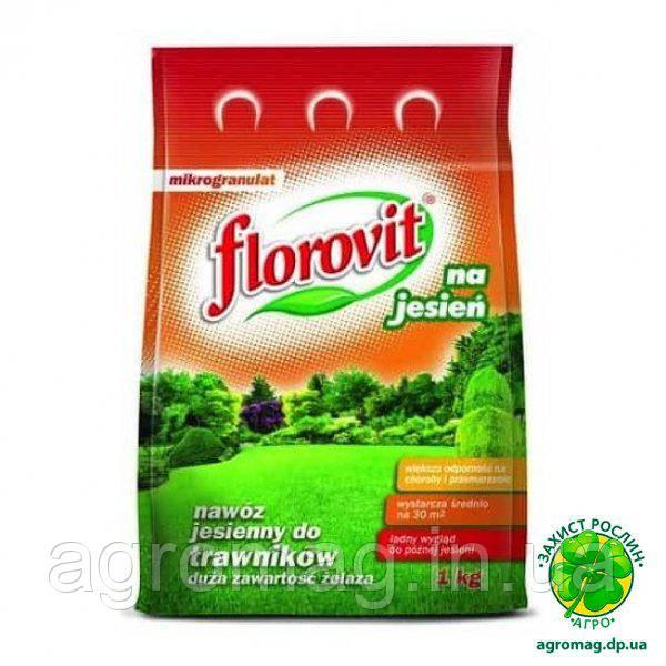 Удобрение Florovit для газонов осеннее 1кг