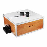 Инкубатор полный автоматический с вентилятором Гусыня на 54 гусиных яиц