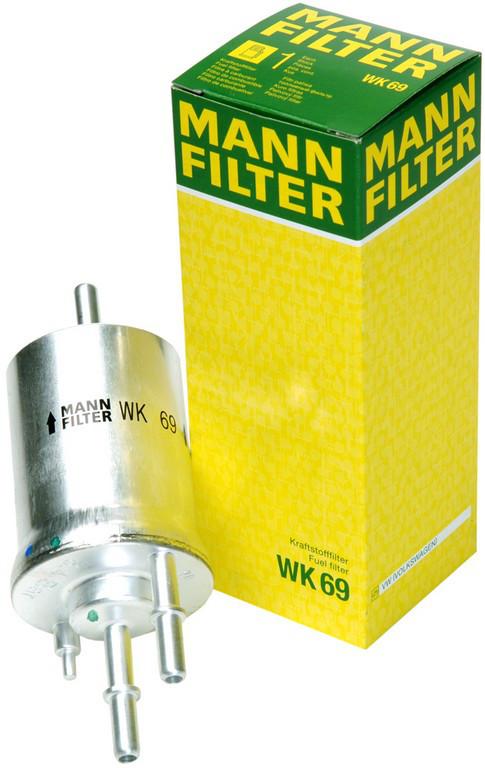 Фильтр очистки топлива Mann wk69 для автомобилей Audi, Seat, Skoda, VW