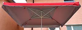 Зонт садовый, торговый, квадратный, с клапаном и напылением, 3 х 3, мод-004W