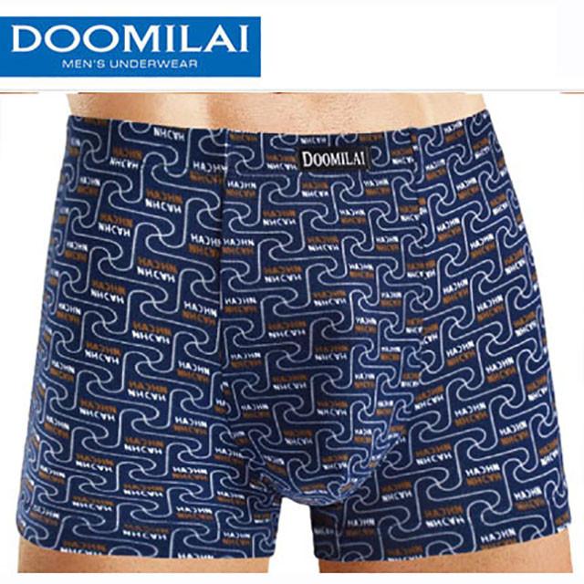 """Чоловічі боксери стрейчеві з бамбука Марка """"DOOMILAI"""" Арт.D-01008"""