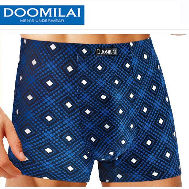Мужские стрейчевые боксеры из бамбука Марка «DOOMILA» Арт.D-01021