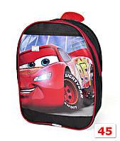 Дошкольный детский рюкзак Тачки