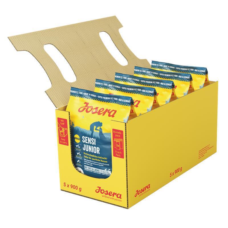 Josera Sensi Junior 0,9кг *5 шт - корм для щенков средних и крупных пород