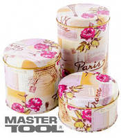 Mastertool  Банка для сыпучих продуктов 0,5 л  100 мм, h  60 мм, Арт.: 92-0859