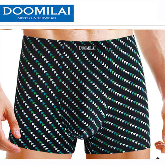 Мужские боксеры стрейчевые из бамбука  Марка  «DOOMILAI»  Арт.D-01052