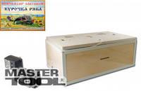 Инкубатор бытовой 100 яиц, механический переворот, пласт. 400*600*24 мм, Арт.: 92-0815