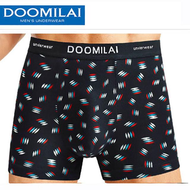Мужские боксеры стрейчевые из бамбука  Марка  «DOOMILAI»  Арт.D-01060