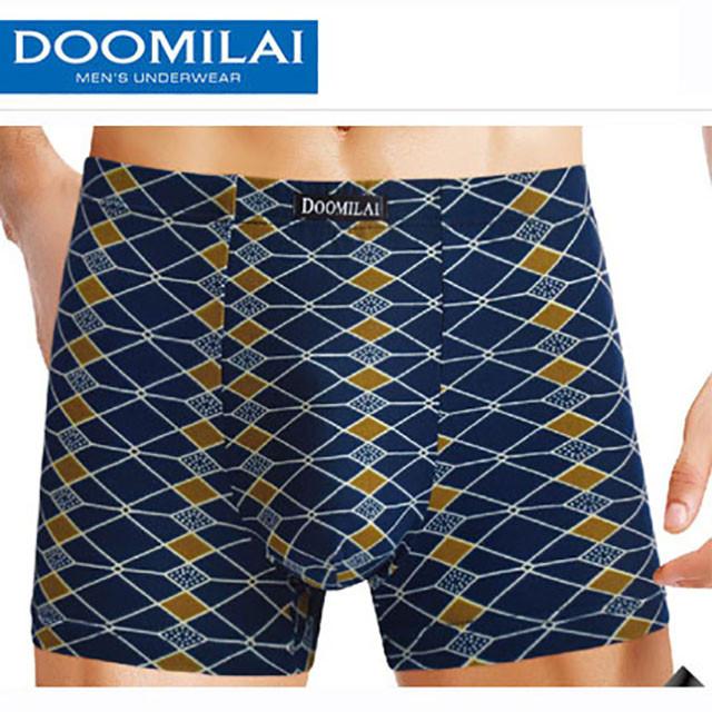 Мужские боксеры стрейчевые из бамбука  Марка «DOOMILAI» Арт.D-01058