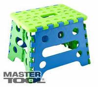 Mastertool  Стульчик складной детский пластиковый фигурный 240*190*180 мм , Арт.: 92-0809