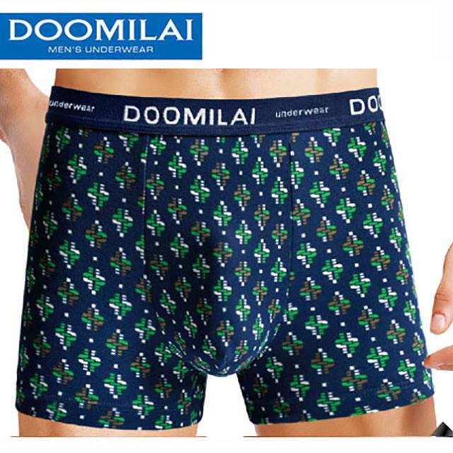 """Чоловічі боксери стрейчеві з бамбука Марка """"DOOMILAI"""" Арт.D-01071"""