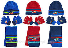 780482, Avengers , Шапка+шарф+перчатки для мальчиков
