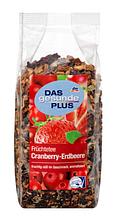 Чай фруктовый Das gesunde Plus Früchte Cranberry-Erdbeere 200 г