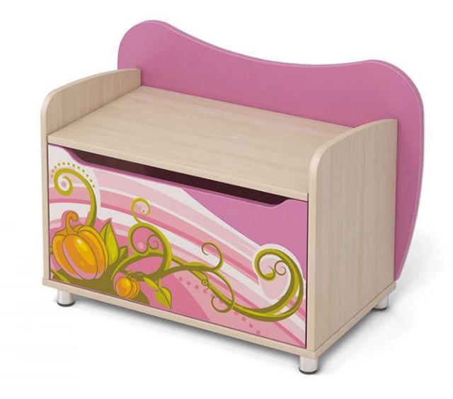 Комод для игрушек Cn-22 Cinderella (розовый)