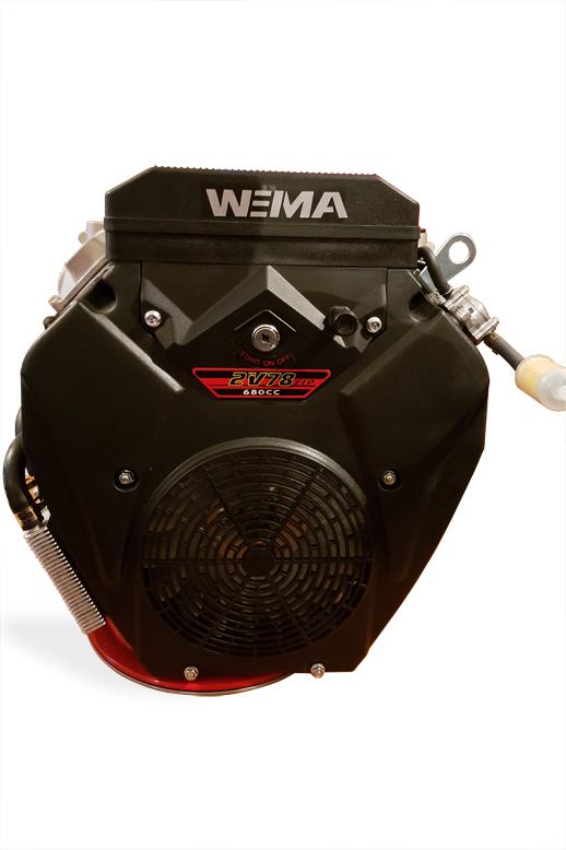 Двигатель бензиновый WEIMA WM2V78F (вал под шпонку)