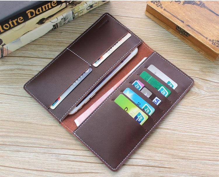 Портмоне или кошелек кожаный коричневый SM-2038PB, фото 2