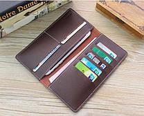 Портмоне или кошелек кожаный коричневый SM-2038PB