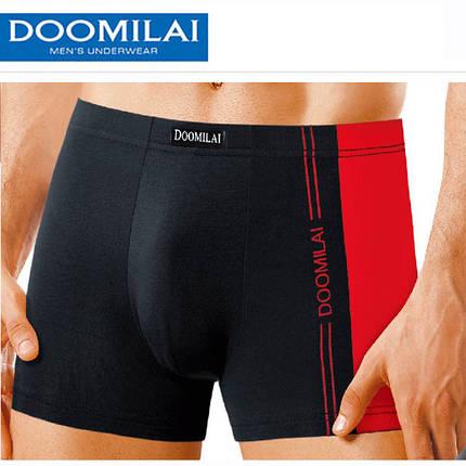 """Чоловічі боксери стрейчеві марка """"DOOMILAI"""" Арт.D-02011, фото 2"""